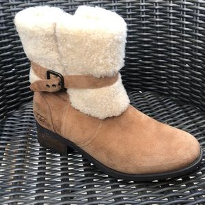 UGG Blayre II Women Suede Tan Winter Boot